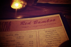 Red Bamboo Menu