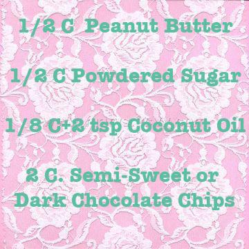 Peanutbutter cup recipe