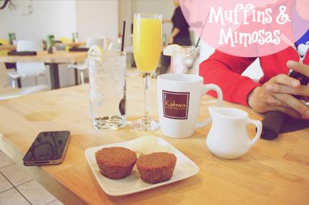 Vegan Muffins & Mimosas