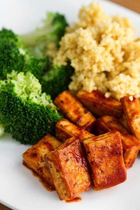 BBQ-tofu
