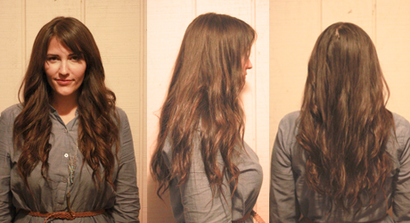Hair tutorial diy clip in hair extensions after extensions pmusecretfo Image collections