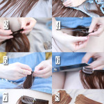 Hair Tutorial | DIY Clip-in Hair Extensions