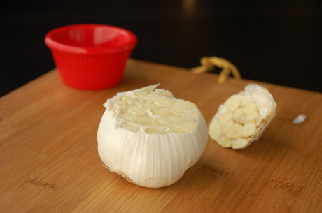 Roasting your garlic makes all the difference