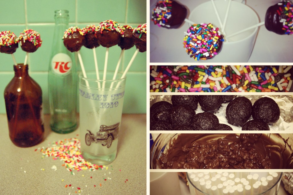 Vegan Cake Pops