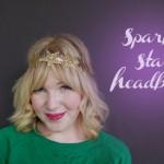 Sparkle Star Headband DIY