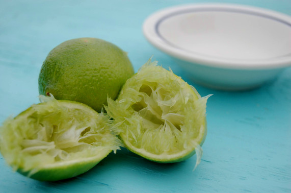 A splash of lime makes all the difference