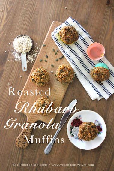Roasted Rhubarb Muffins Title1